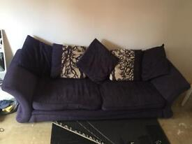 Scatter cushion sofa