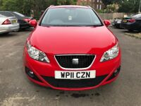 SEAT IBIZA ESTATE 1.2 FULLY AUTOMATIC, 2011,FULL SERVICE HISTORY, 2 KEYS, MINT CONDITION, LADY OWNER