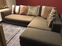 Large corner sofa for sale.