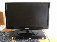 "Samsung 23"" LCD TV & DVD Player"