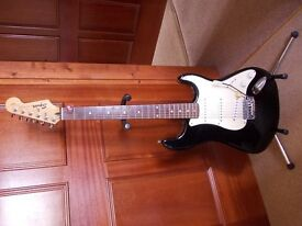 SQUIER STRAT 1995, Black, Made in China