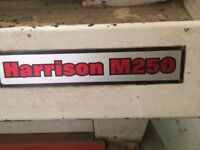 Lathe harrison m250