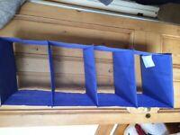 FREE - Hanging fabric shelves x 2