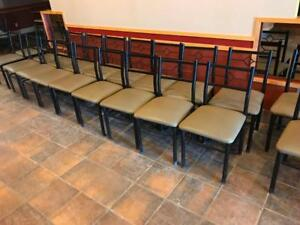 10  restaurant chairs left available for only $15 each ! Wont last !