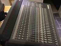Soundtracs Topaz Project 8 with Manual meter bridge 24 Channel 8 bus Mixing desk