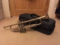 Trumpet with hard case