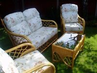 Conservatory Set - sofa, 2 chairs and table for sale