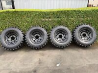 Defender Off-Road tyres and wheels