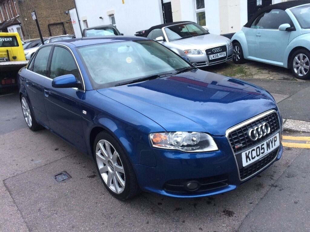 Audi A4 1 8t S Line Blue 2005 Full History Leathers