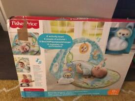 Fisher price butterfly dreams play activity gym