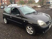 Renault Clio car 1.2 petrol 2005 55 reg extreme model drives mind £699