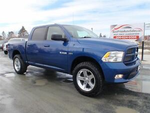 2010 Dodge Ram 1500 SPORT! CREW! LEVELING KIT! CERTIFIED!