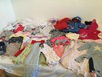9-12 month girl clothes bundle 65+ items