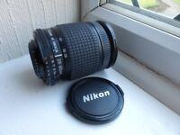 Nikon Nikkor 28 80 AF lens