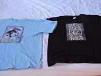1960s retro style t-shirts