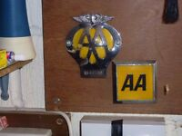 AA Badges. One Old and One more recent