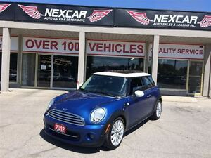 2012 MINI Cooper AUT0 LEATHER PANORAMIC ROOF 116K