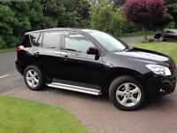 2007 TOYOTA RAV4 2.2 D-4D XT4 Full service history Leather interior Cruise control 4WD