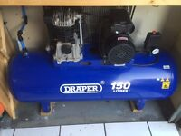 Draper 150l Air Compressor (Very good condition) L@@K