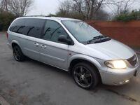 Chrysler Voyger 2.5 diesel manual Ideal 7 seater family car £995