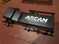 Arcan professional gargae car creeper - LIKE NEW - cost £50
