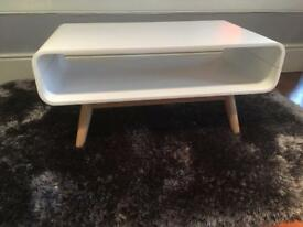Brand New Made White Esme Coffee Table