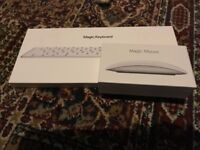 Apple Wireless magic Keyboard 2 and Magic Mouse 2