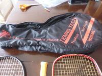 4 tennis rackets