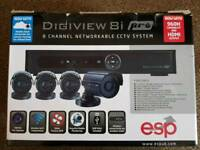 CCTV full system 4 x 700 TVL cameras, Networkable 1TB DVR £200 ONO