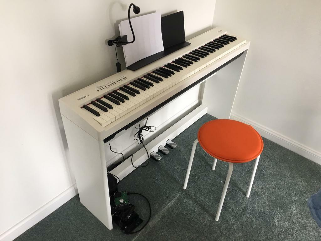 Roland Fp 30 Digital Piano With Pedal Stand In South