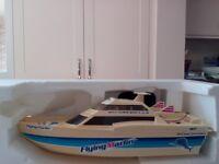 Nikko Flying Marlin radio-control Boat