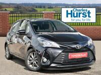 Toyota Yaris VVT-I ICON TECH (black) 2017-04-26