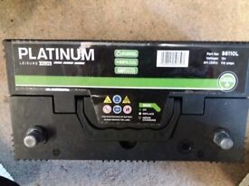 Platinum Leisure PLUS Battery 12v 110 amps About a year old.