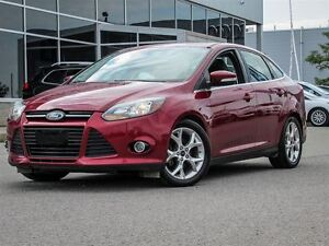 2014 Ford Focus Titanium| Fully Loaded| Heated Leather Interior|