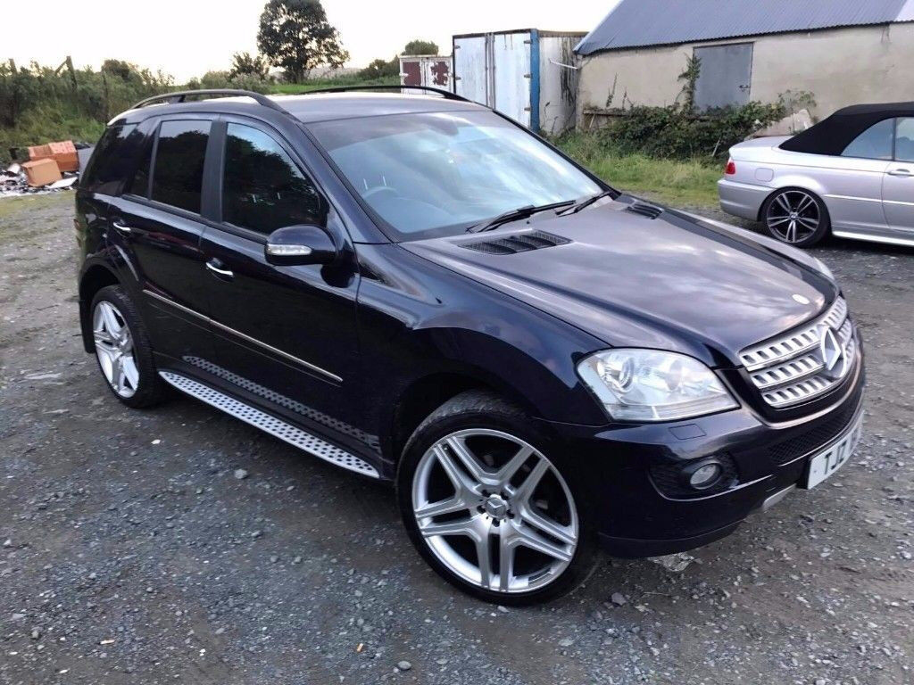 mercedes ml320 amg sport auto not x5 q7 jeep in newry county down gumtree. Black Bedroom Furniture Sets. Home Design Ideas