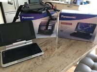 2 x Panasonic LS80 portable DVD players