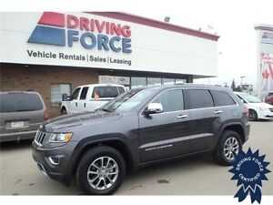 2016 Jeep Grand Cherokee Limited 4x4 - 25,676 KMs, 5 Passenger