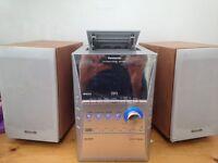 Panasonic Hifi System [5 CD changer, Cassette, AUX IN] Model SC-PM41