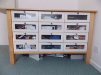 Ikea Varde Counter Storage Unit Kitchen 9 drawer