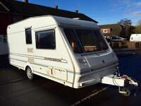 Abbey Expression 2 berth caravan with Dorema awning