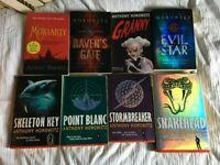 Lockdown Reading for Teens - Anthony Horowitz Books - Adventure Novels - Snakehead Evil Star