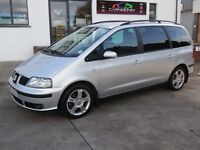 2007 SEAT ALHAMBRA 2.0 TDI WITH FULL LEATHER, FSH,FULL MOT !!!!!!