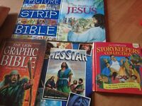 Childrens faith books. Christian/God/Jesus. Bible and stories. Graphic novels