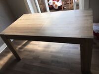 NEXT extending dining table