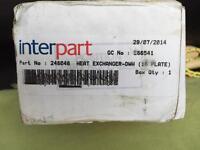 """Interpart Heat Exchanger. New """"old"""" stock."""