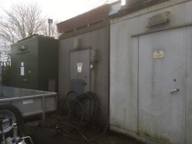 Heavy duty storage unit