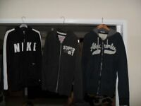 Mens Hoodie zip up Tops - Nike, Superdry & Abercrombie & Fitch