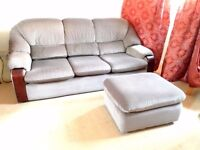 Sofa and two armchairs free to collect
