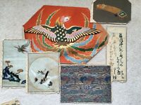Small Collection Of Antique Chinese Embroidery