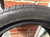 205/50/17 tyre